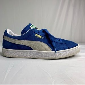 Puma Women's Suede Classic Sneakers Shoes Olympian Blue 362213-64 Size US:9.5